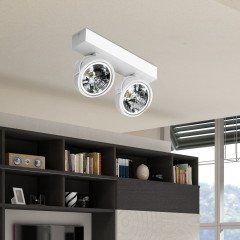 AZzardo Jerry 2 White 230V - Ceiling - AZZardo-lighting.co.uk
