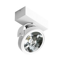 AZzardo Jerry 1 White 230V - Ceiling