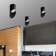 AZzardo Momo 8 Black - Ceiling