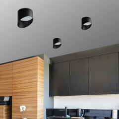 AZzardo Momo 12 Black - Ceiling