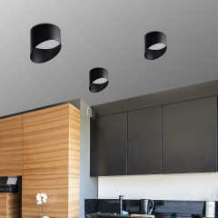 AZzardo Momo 14 Black - Ceiling