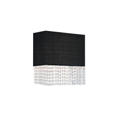 AZzardo Glamour Black Wall - Wall lights - AZZardo-lighting.co.uk