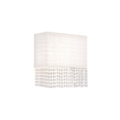 AZzardo Glamour White Wall - Wall lights - AZZardo-lighting.co.uk