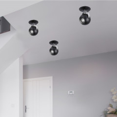 AZzardo Gulia Wall Black - Wall lights - AZZardo-lighting.co.uk
