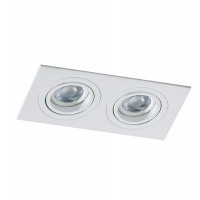 AZzardo Caro 2 Square White - Spot lights