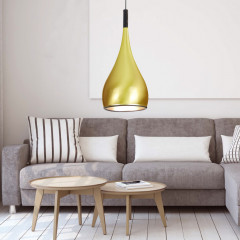 AZzardo Spell France Gold - Pendant - AZZardo-lighting.co.uk