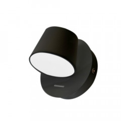 AZzardo Ramona 1 Switch Black - Wall lights - AZZardo-lighting.co.uk