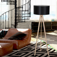 AZzardo Tripod Wood - Floor lamps