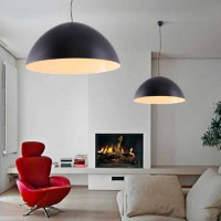 AZzardo Magma 90 Black/White - Pendant