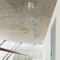 AZzardo Bross 1 WH/ALU - Ceiling - AZZardo-lighting.co.uk