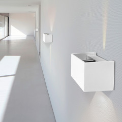 AZzardo Gambino White LED - Wall lights - AZZardo-lighting.co.uk