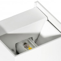 AZzardo Gambino White LED -