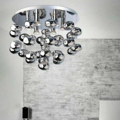 AZzardo Luvia Chrome - Ceiling - AZZardo-lighting.co.uk
