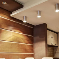 AZzardo Bross 1 Chrome - Ceiling