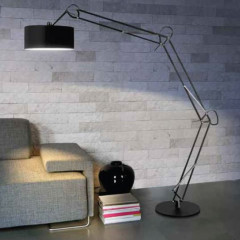 AZzardo Bosse Floor Black - Stand - AZZardo-lighting.co.uk