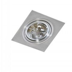 AZzardo Siro 1 Aluminium - Ceiling - AZZardo-lighting.co.uk