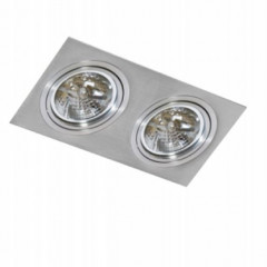 AZzardo Siro 2 Aluminium - Ceiling - AZZardo-lighting.co.uk