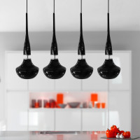 AZzardo Tasos 4 Black Edition - Pendant