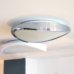AZzardo Circulo 58 Chrome Top - Ceiling - AZZardo-lighting.co.uk