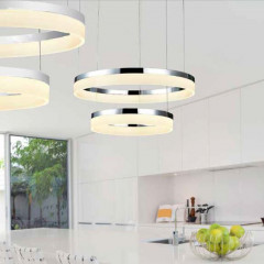 AZzardo Zola Chrome 60/40 - Pendant - AZZardo-lighting.co.uk