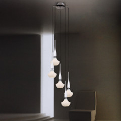 AZzardo Tasos 5 - Pendant - AZZardo-lighting.co.uk