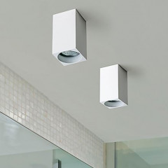AZzardo Mini Square White - Ceiling - AZZardo-lighting.co.uk
