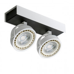 AZzardo Max 2 White/Black LED  - Ceiling - AZZardo-lighting.co.uk