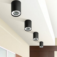 AZzardo Neos 1 Black - Ceiling