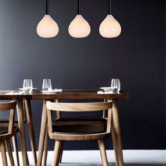 AZzardo Aga 3 White - Pendant - AZZardo-lighting.co.uk
