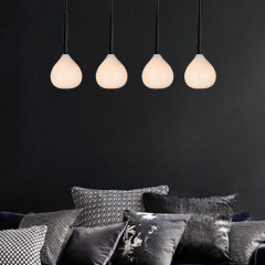 AZzardo Aga 4 White - Pendant - AZZardo-lighting.co.uk