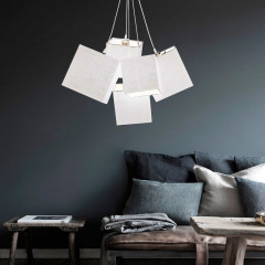 AZzardo Tora White - Pendant - AZZardo-lighting.co.uk