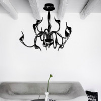 AZzardo Snake Top Black - Ceiling