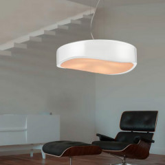 AZzardo Grasso White - Pendant - AZZardo-lighting.co.uk